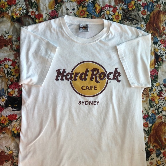 62e95f74 Hard Rock Cafe Shirts | Vintage Hard Rock Sydney Tshirt | Poshmark